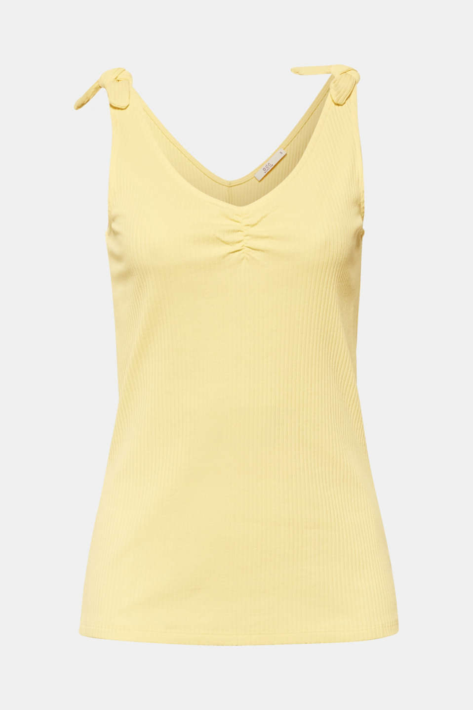 T-Shirts, LIGHT YELLOW, detail image number 5