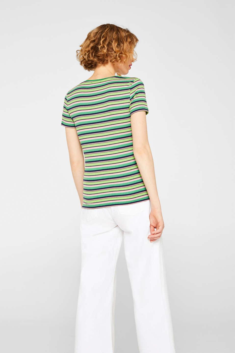 T-Shirts, DARK GREEN, detail image number 3