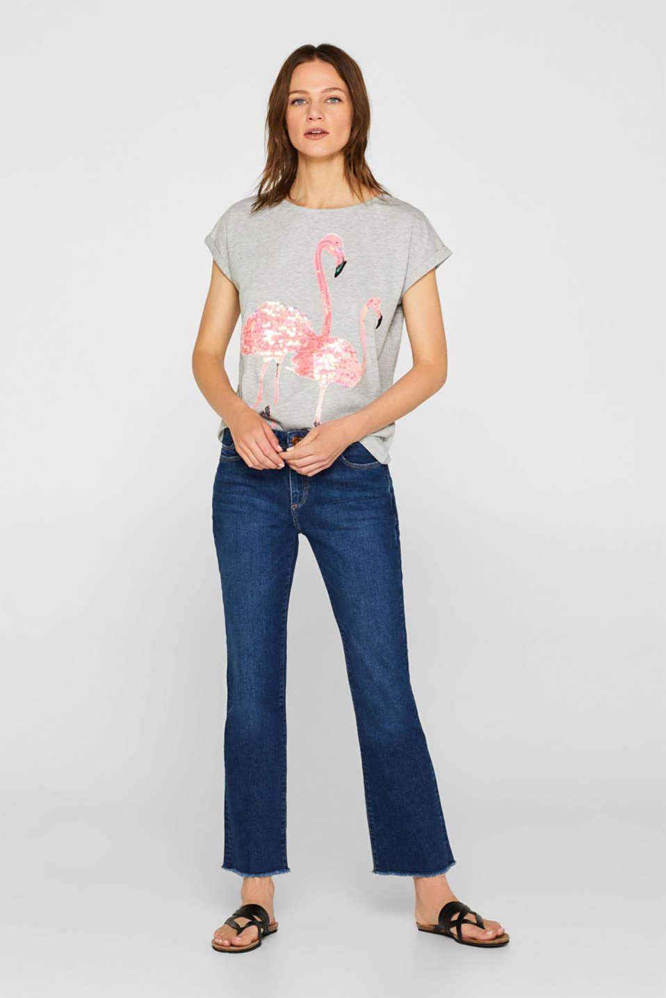 T-Shirts, LIGHT GREY 5, detail image number 1
