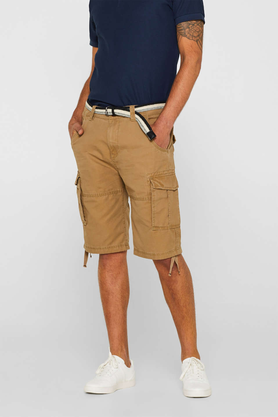 edc - Cargo shorts in 100% cotton