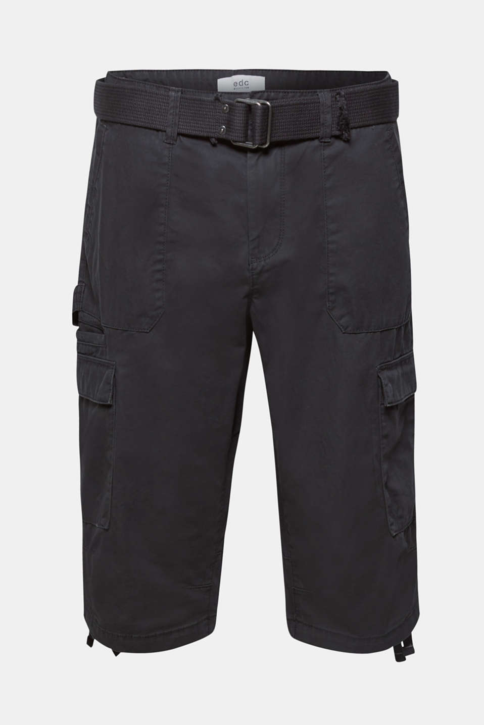 Shorts woven, ANTHRACITE, detail image number 5