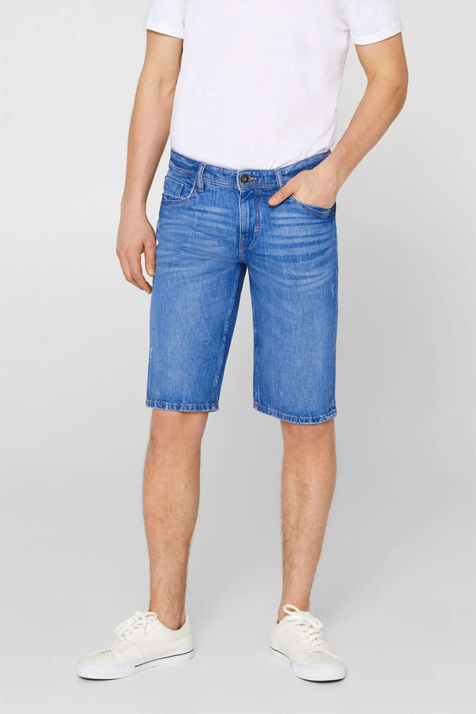edc - Stretch denim shorts