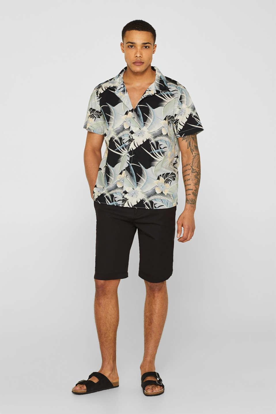 Shirts woven Regular fit, LIGHT GREY, detail image number 1