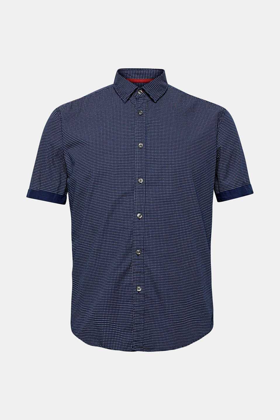 Shirts woven Slim fit, NAVY, detail image number 5