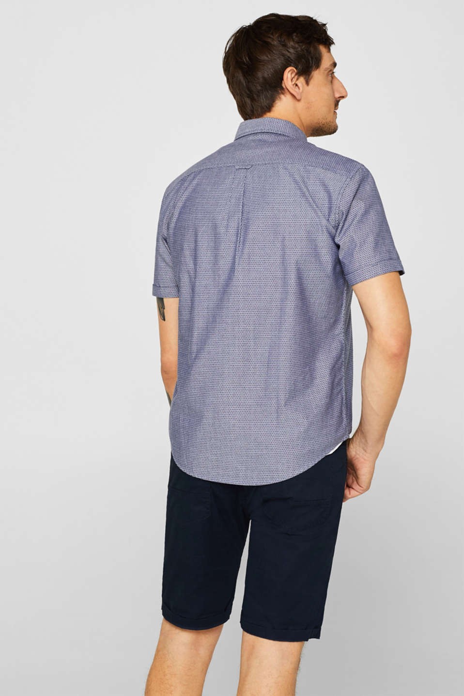 Shirts woven Regular fit, NAVY, detail image number 3