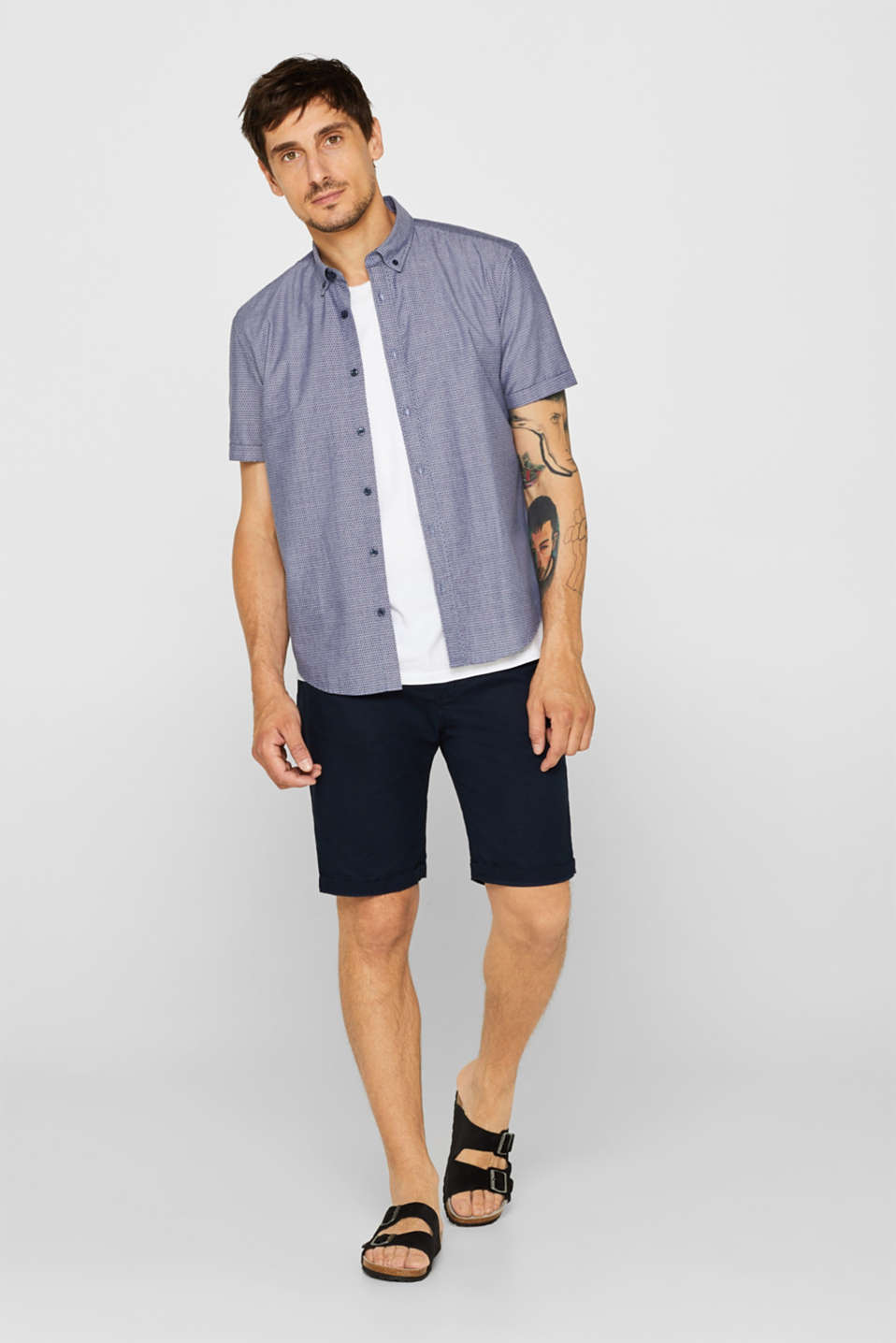 Shirts woven Regular fit, NAVY, detail image number 1