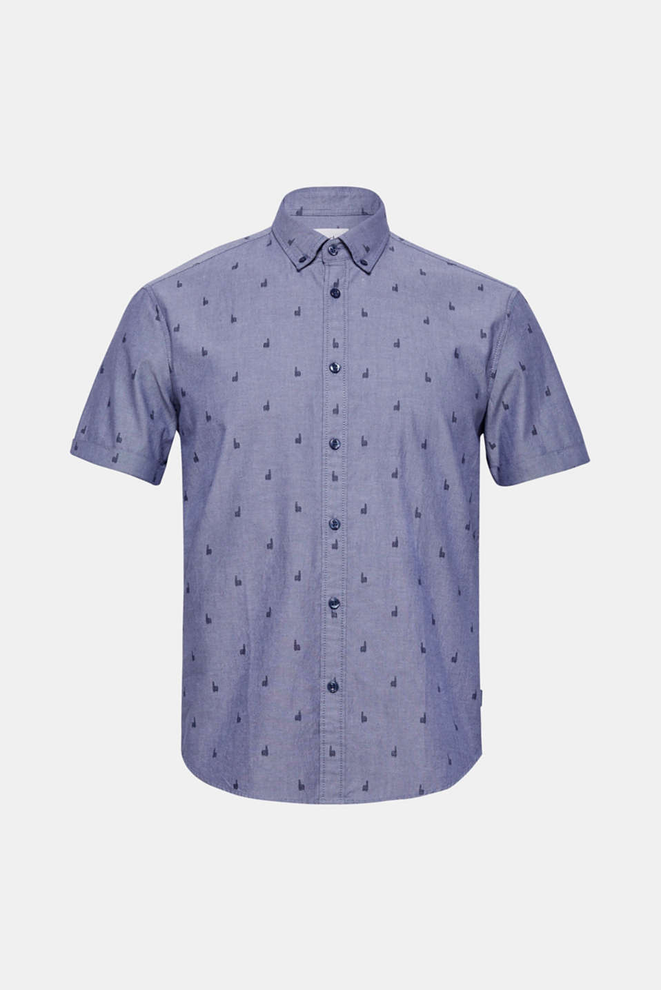 Shirts woven Regular fit, NAVY 2, detail image number 6