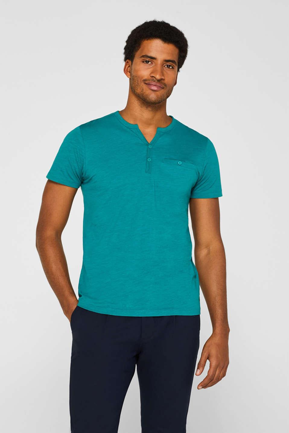 edc Slub jersey T shirt in 100% cotton at our Online Shop