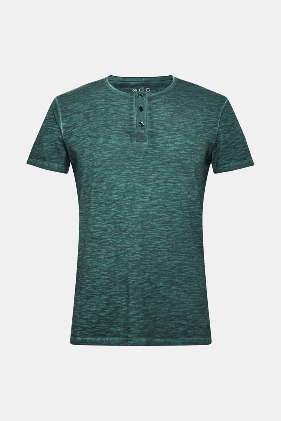 Jersey T-shirt in 100% cotton, TEAL BLUE, detail image number 6