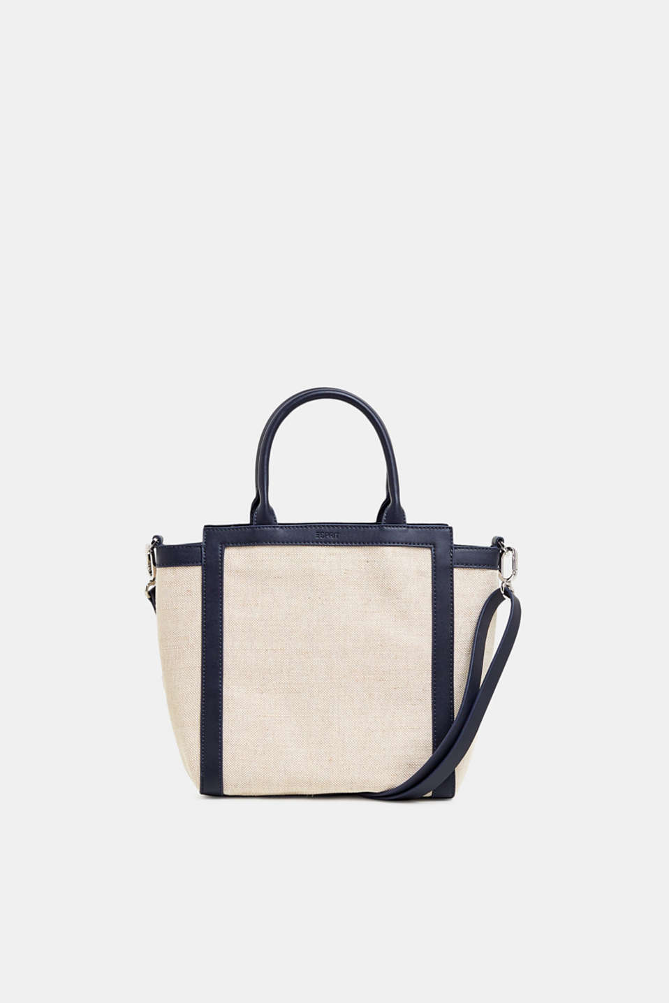 Esprit - City Bag aus Material-Mix