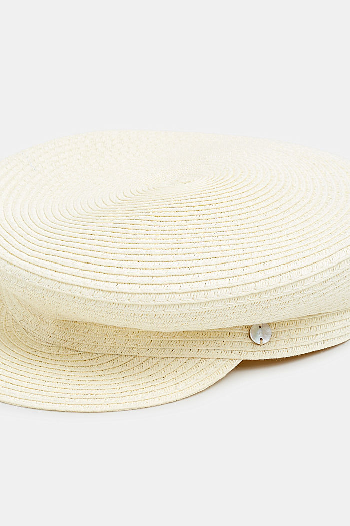 Sailor's cap made of straw