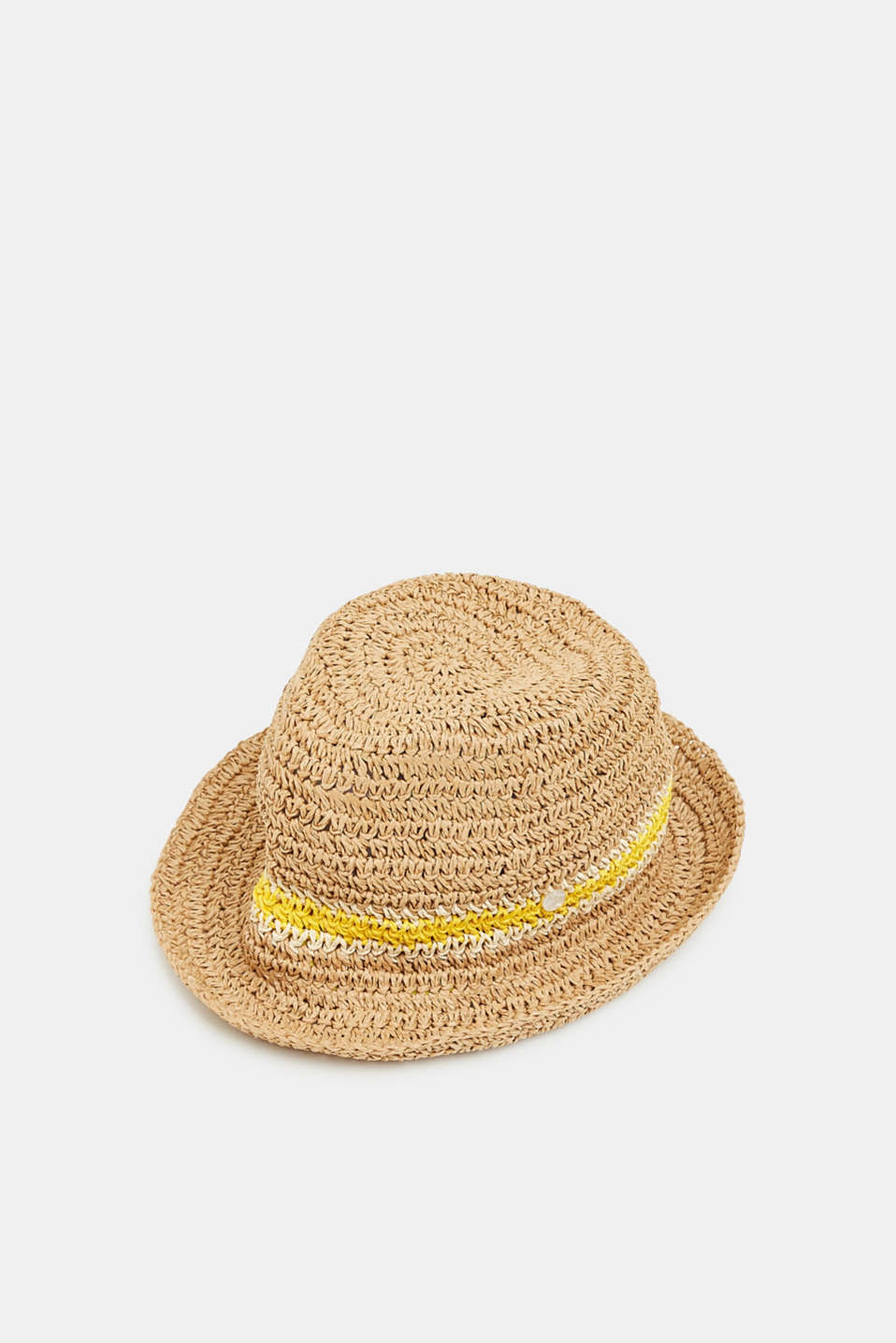 Esprit - Crocheted trilby hat