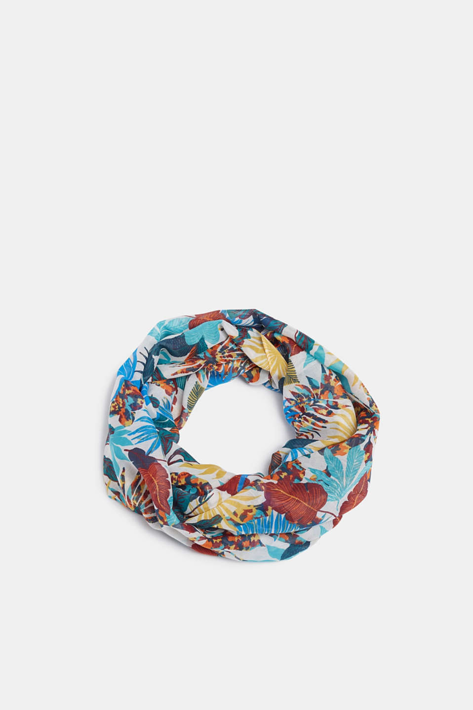 Esprit - Snood with print, recycled