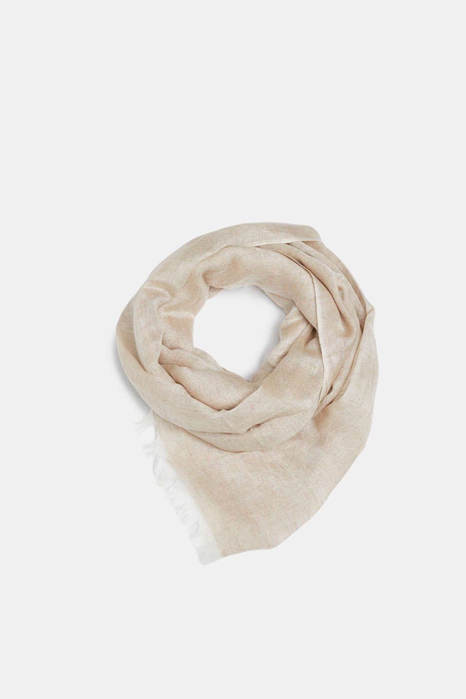 Shawls/Scarves, LIGHT BEIGE, detail image number 0
