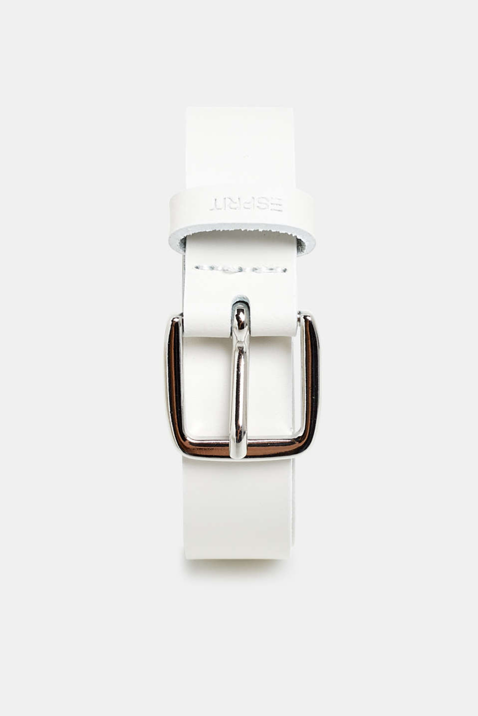 Belts leather, WHITE, detail image number 0