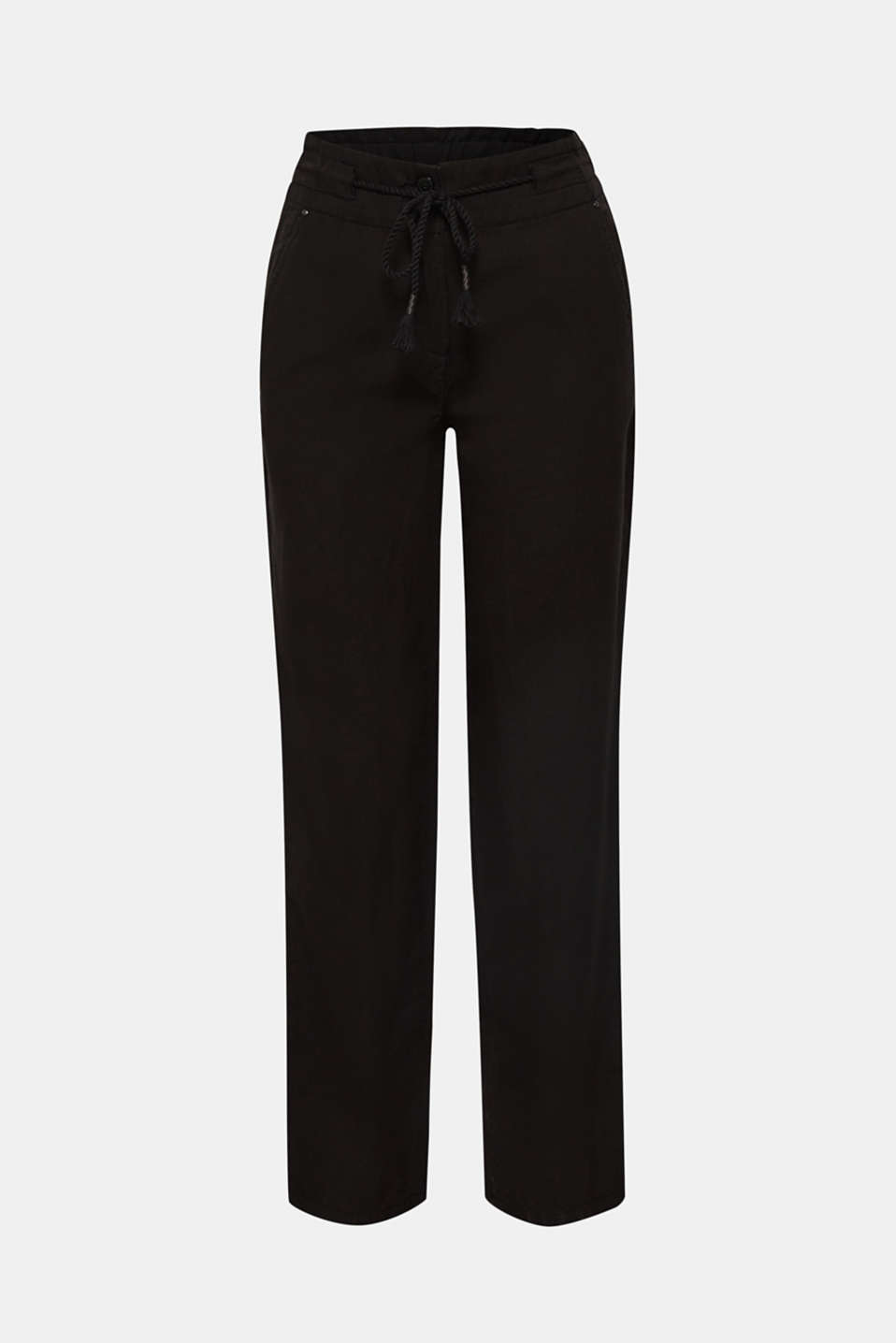 Pants woven, BLACK, detail image number 8