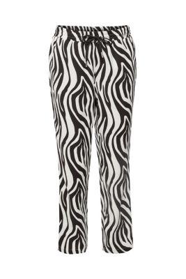 c9cdcdc4a088ee Met linnen  jogger met zebraprint€ 49