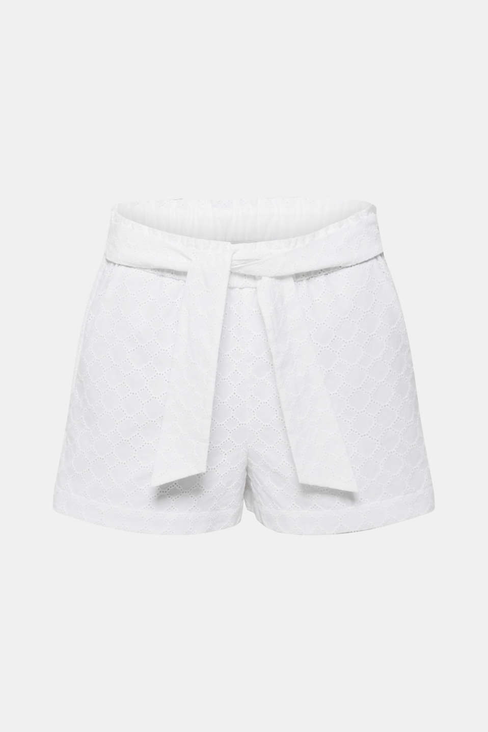Shorts woven, OFF WHITE, detail image number 8