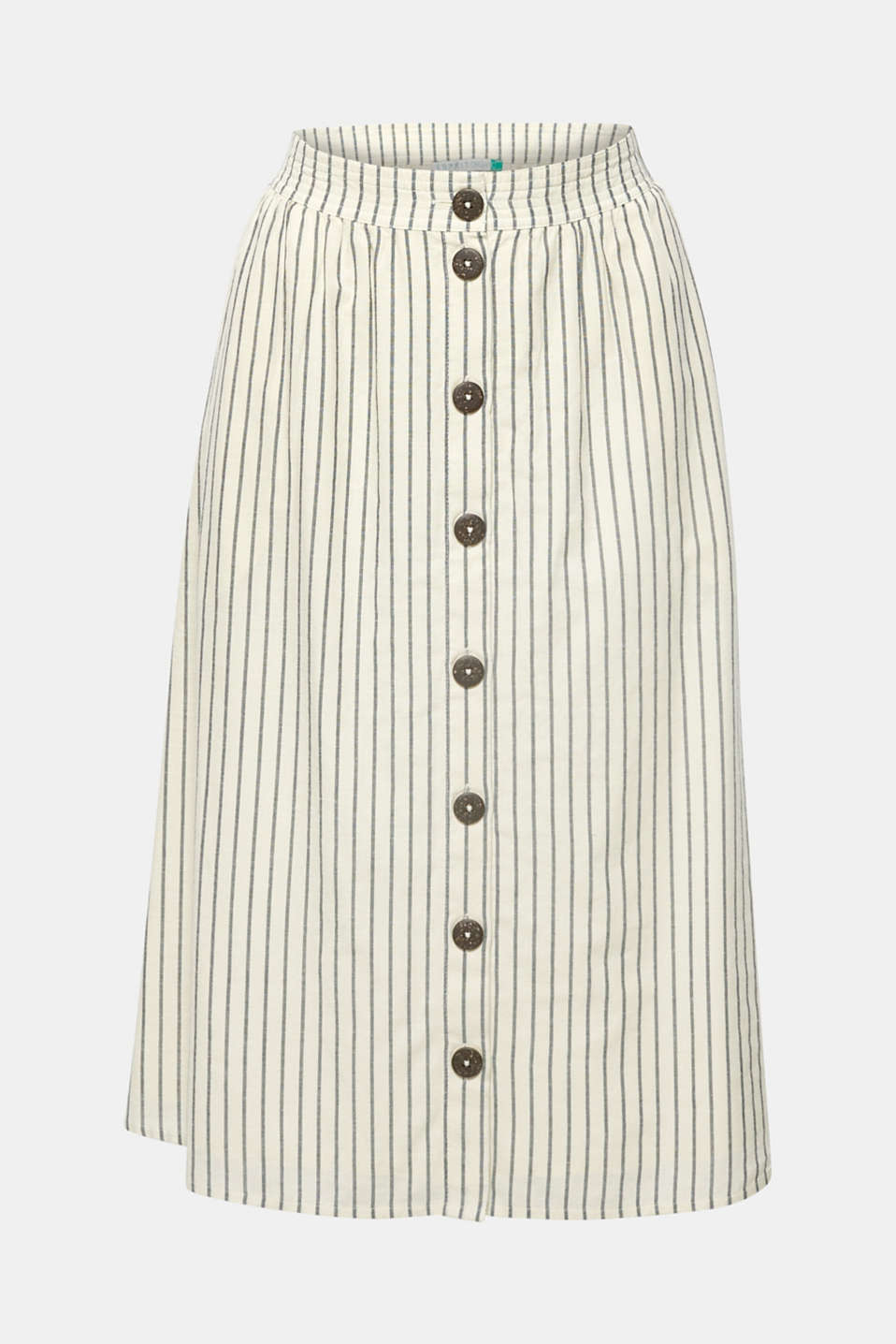 Skirts light woven, OFF WHITE 2, detail image number 6