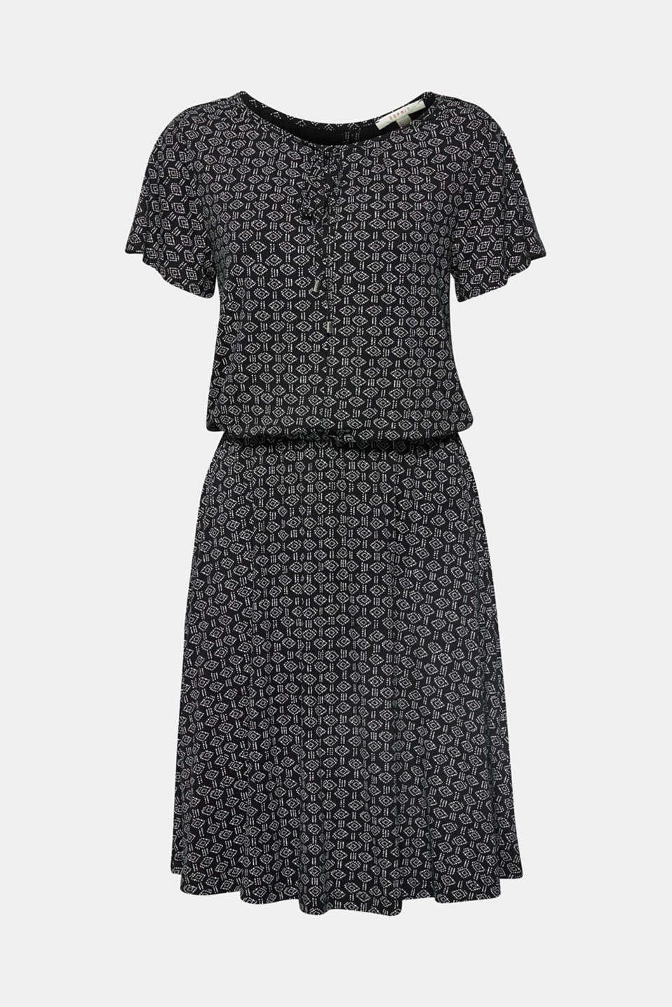 Dresses knitted, BLACK, detail image number 7