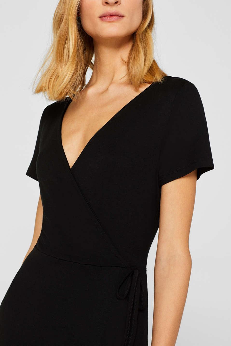 Dresses knitted, BLACK, detail image number 3