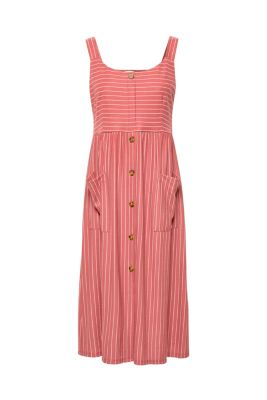 246cd83d676 Strappy dress with stripes and button placket€ 59.99