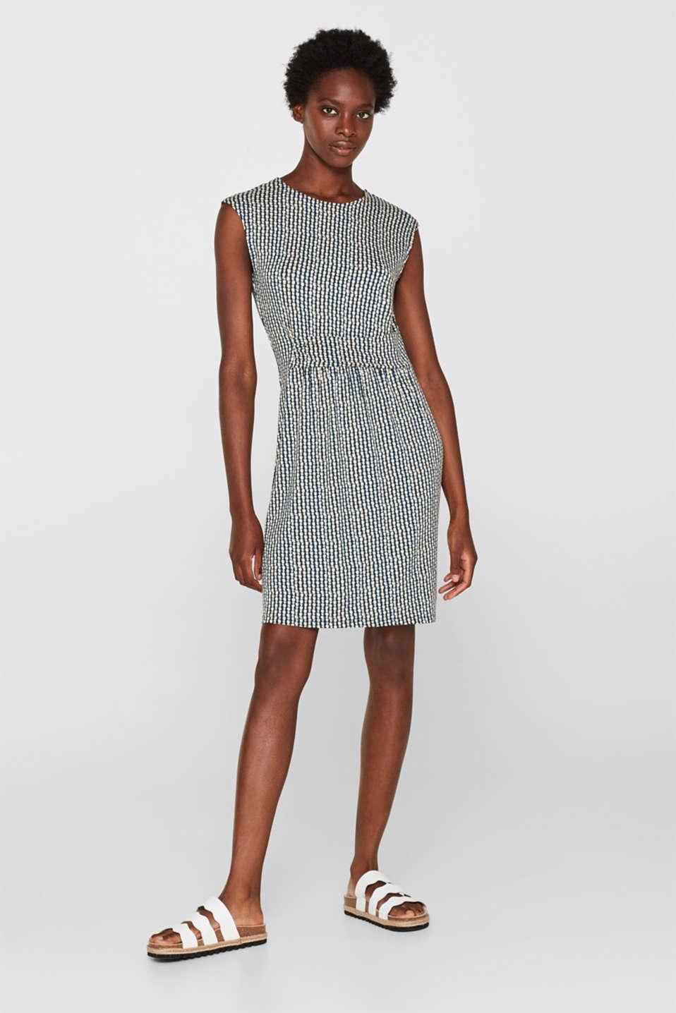 Dresses knitted, BLUE, detail image number 1