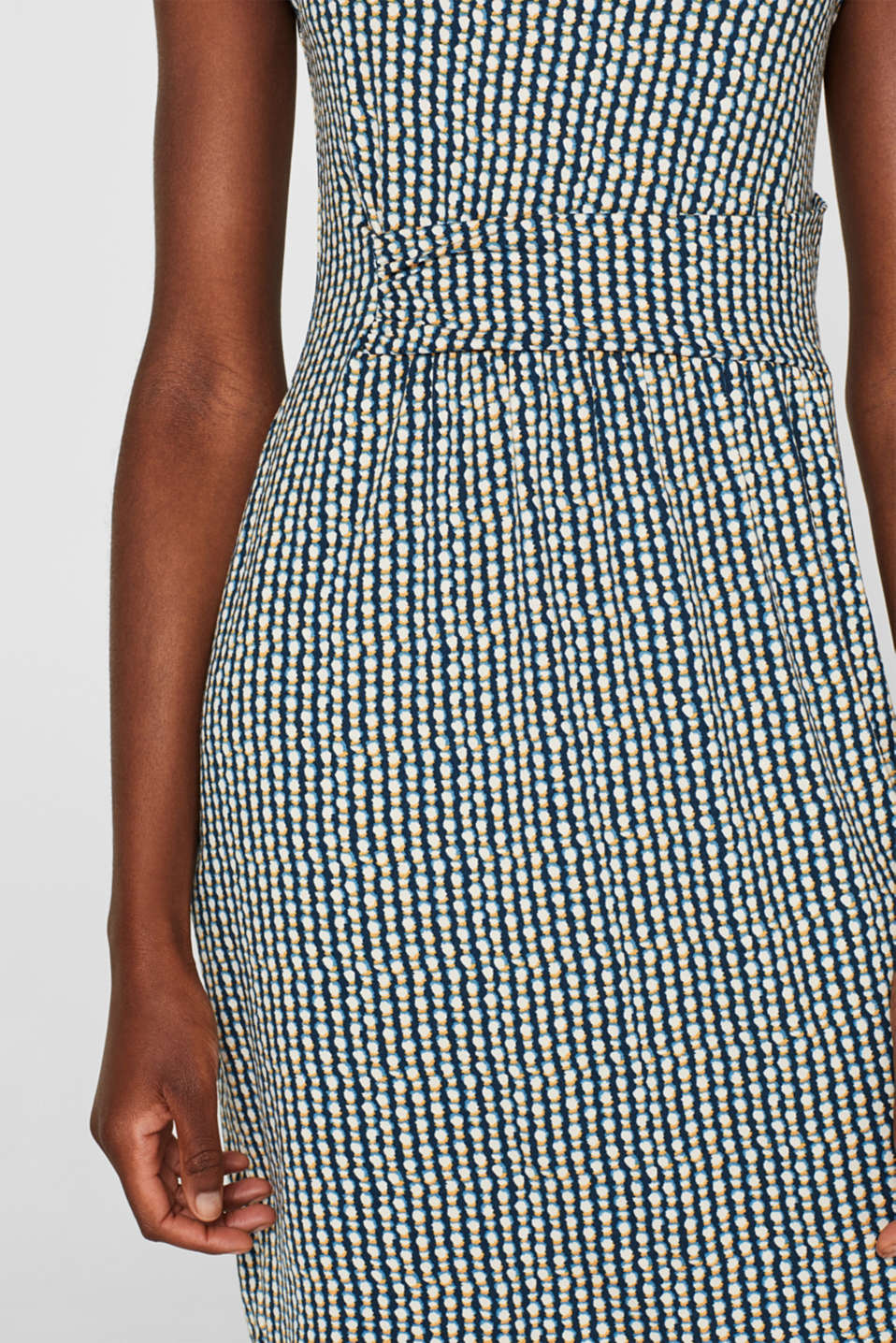 Dresses knitted, BLUE, detail image number 3