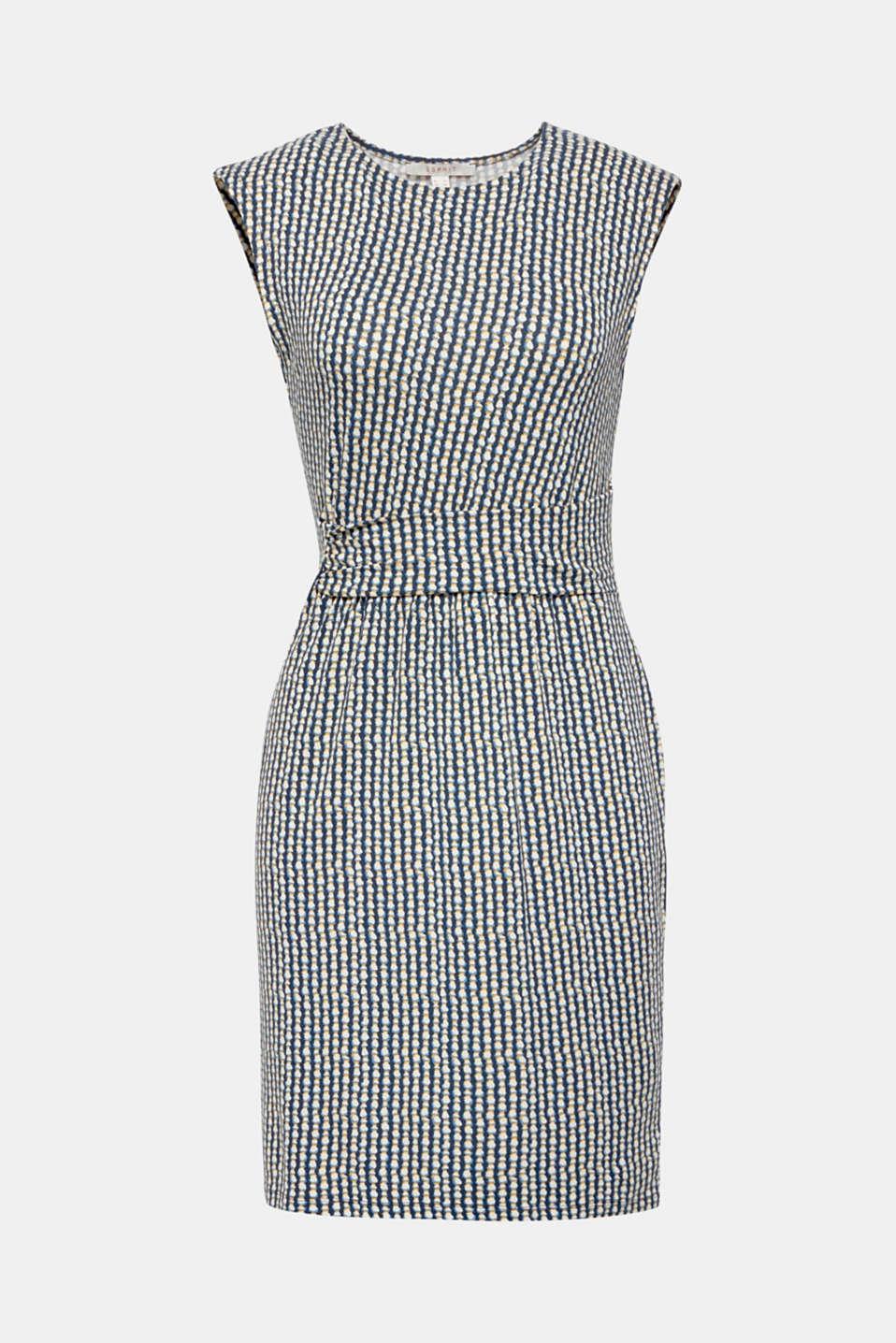 Dresses knitted, BLUE, detail image number 7