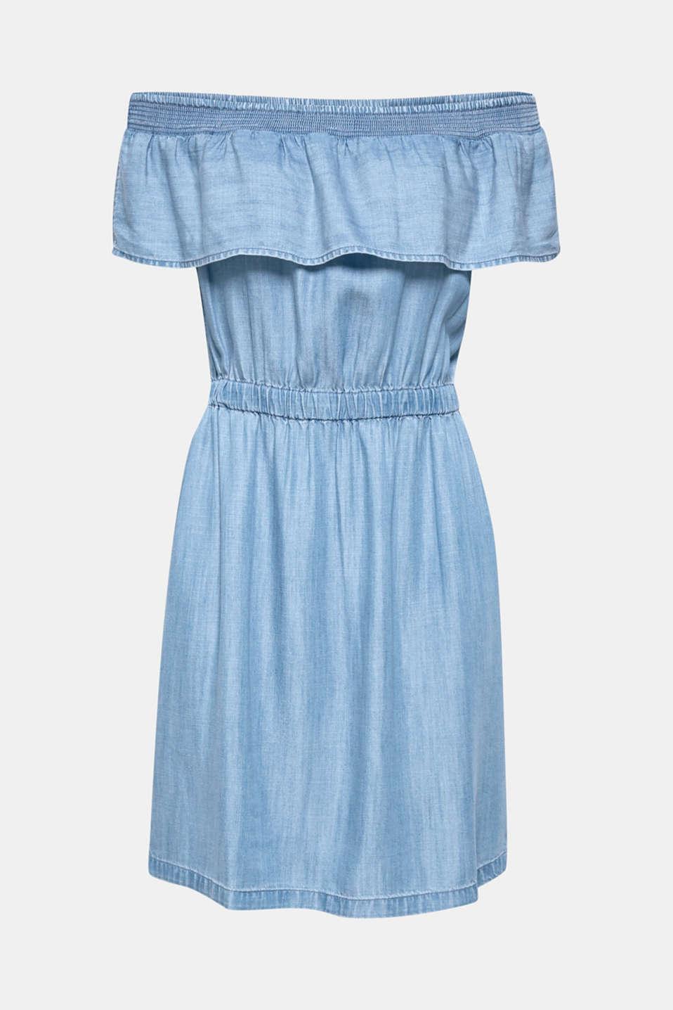 Dresses denim, BLUE MEDIUM WASH, detail image number 6