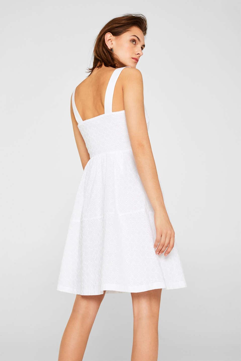 Dresses light woven, OFF WHITE, detail image number 2