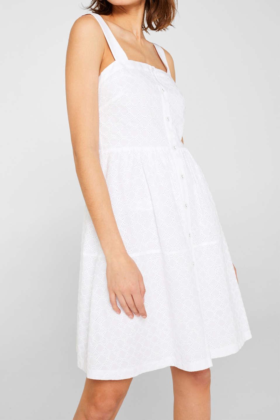 Dresses light woven, OFF WHITE, detail image number 3