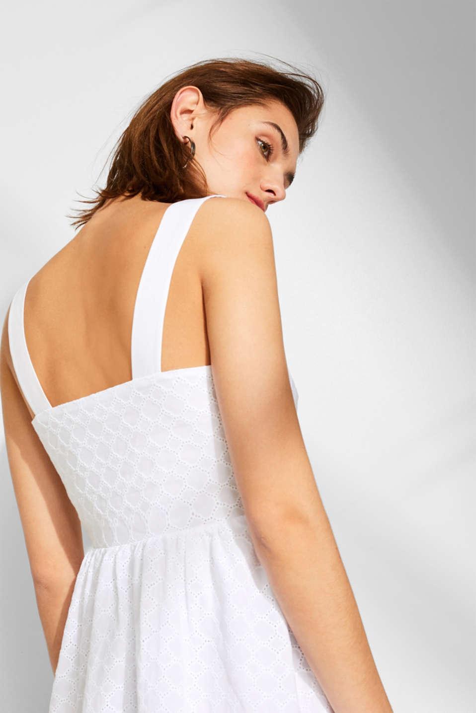 Dresses light woven, OFF WHITE, detail image number 6
