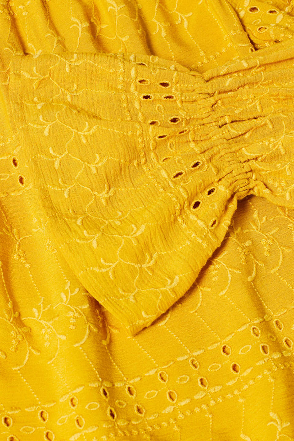Blouses woven, BRASS YELLOW, detail image number 4