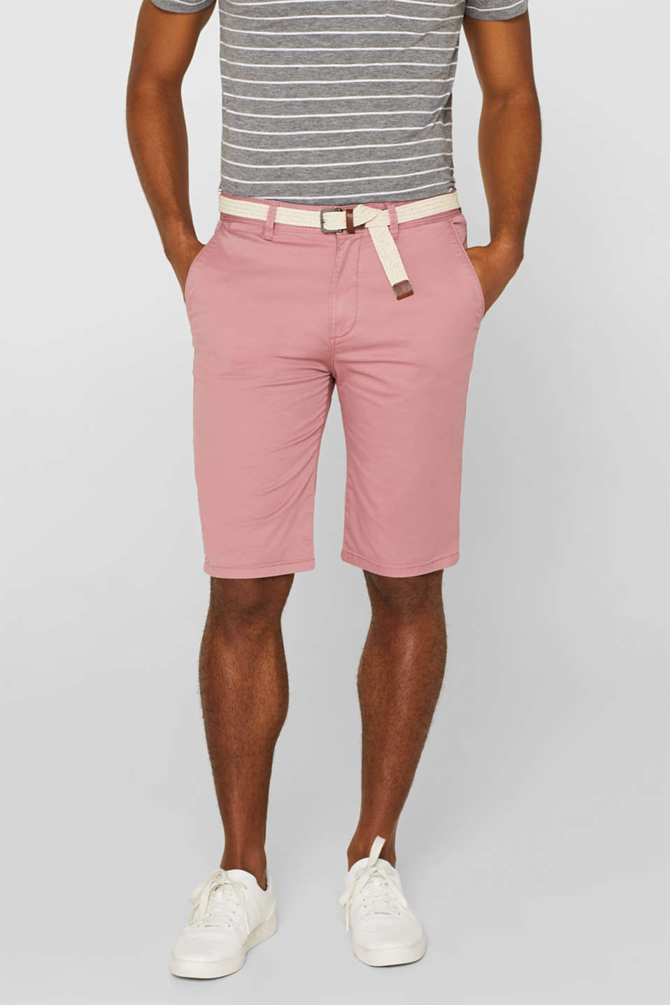 Esprit - Bermuda shorts in 100% cotton