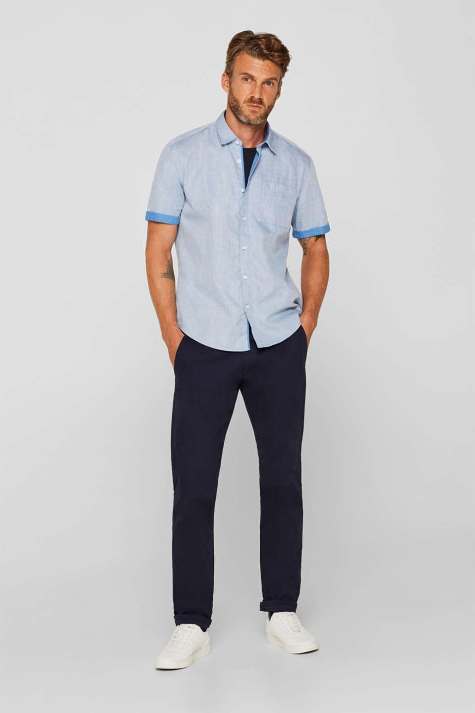 Shirts woven Regular fit, BLUE, detail image number 5