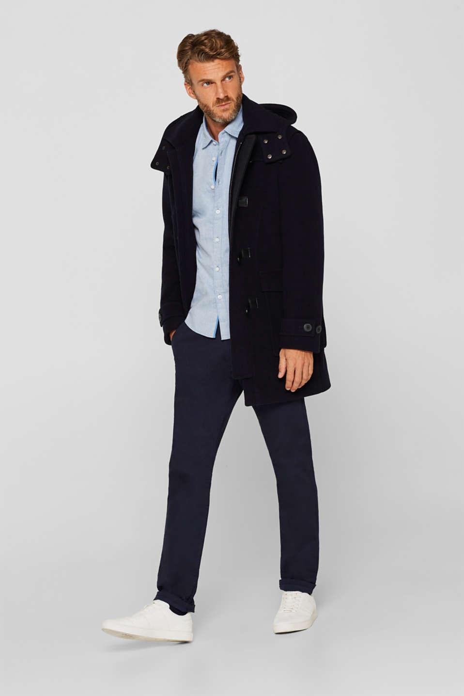 Shirts woven Regular fit, BLUE, detail image number 1