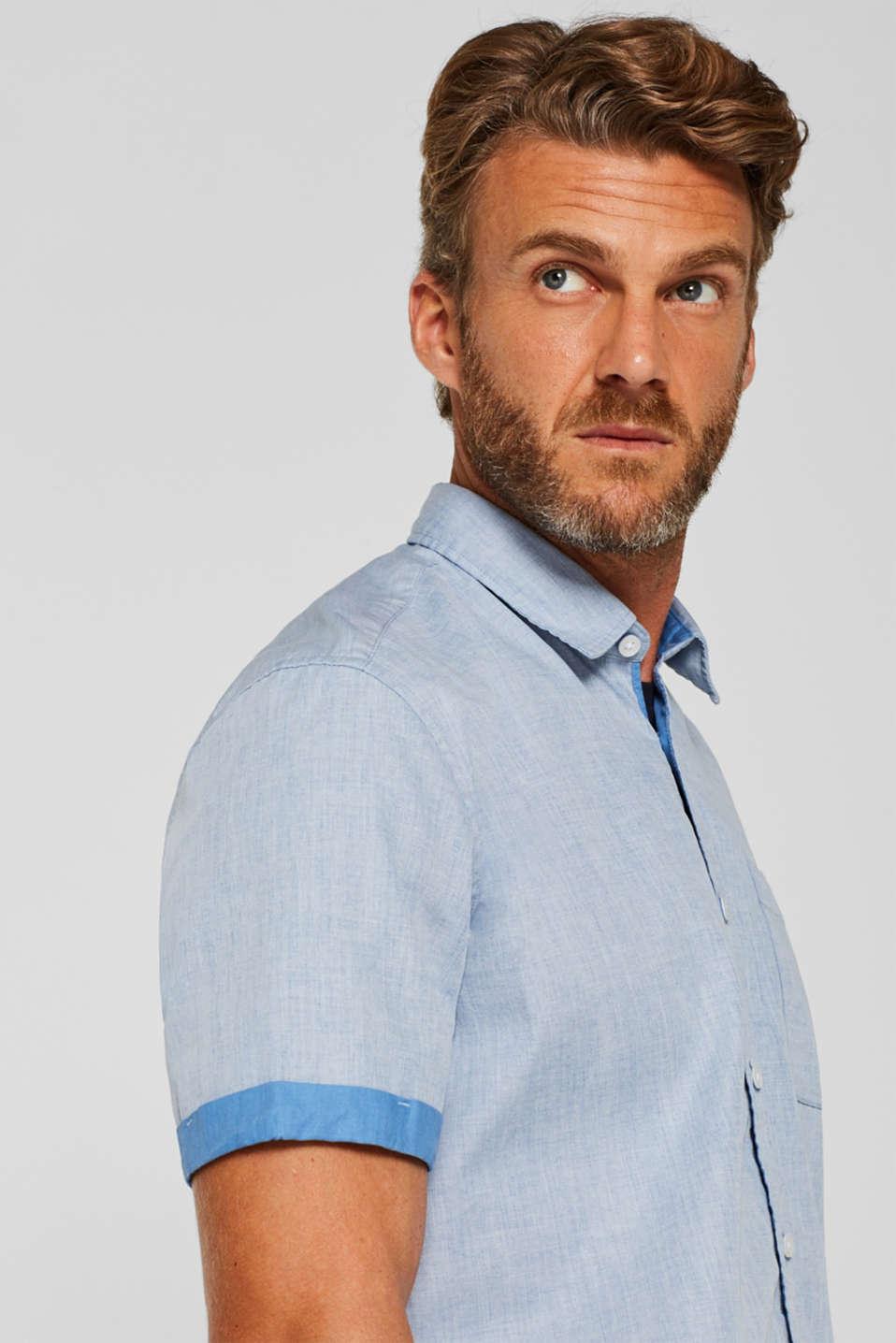 Shirts woven Regular fit, BLUE, detail image number 2