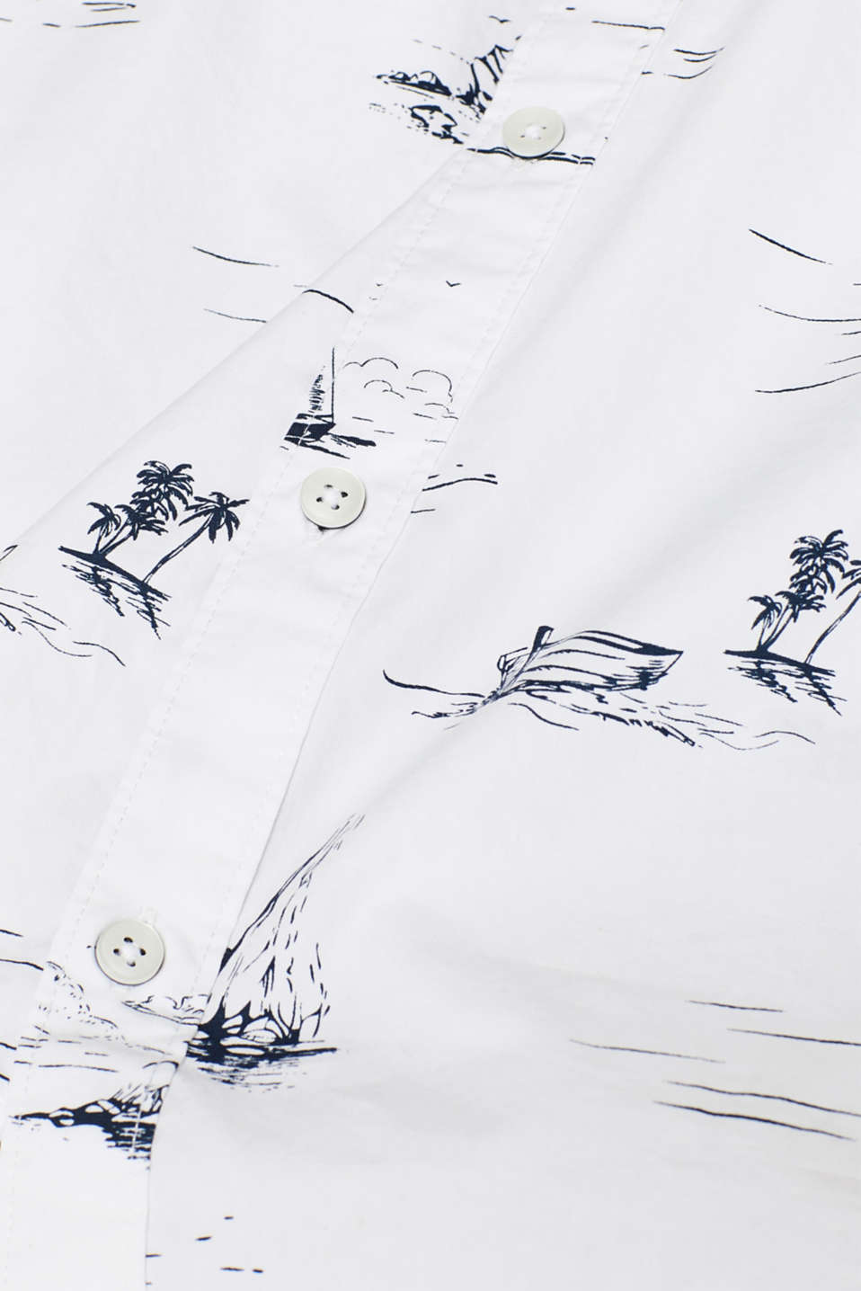 Shirts woven Regular fit, WHITE, detail image number 4