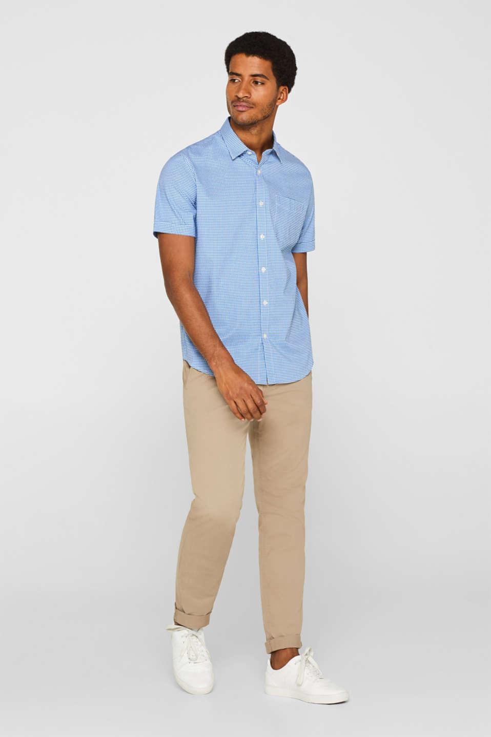 Shirts woven Slim fit, LIGHT BLUE, detail image number 5