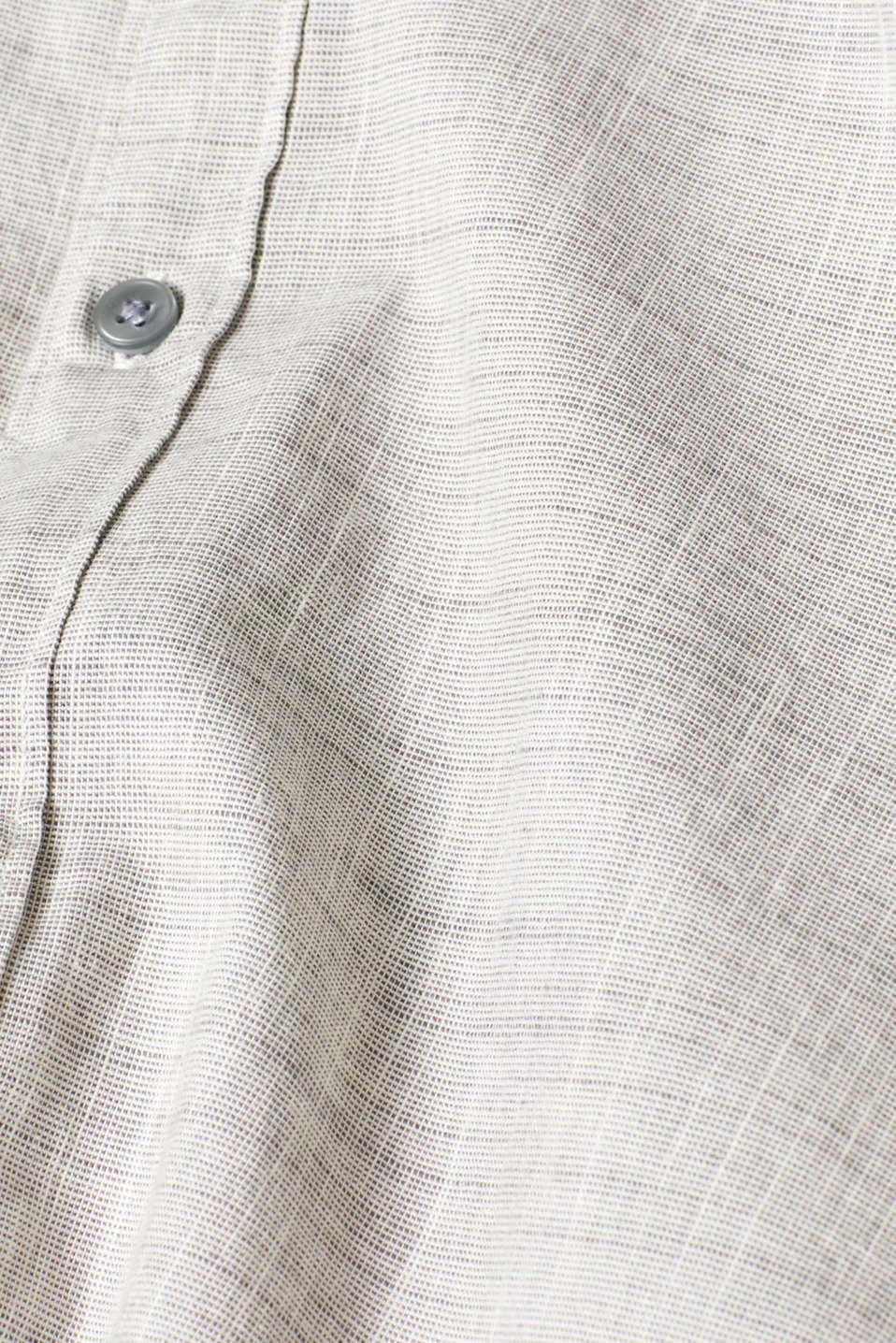 Shirts woven Slim fit, LIGHT GREY, detail image number 4