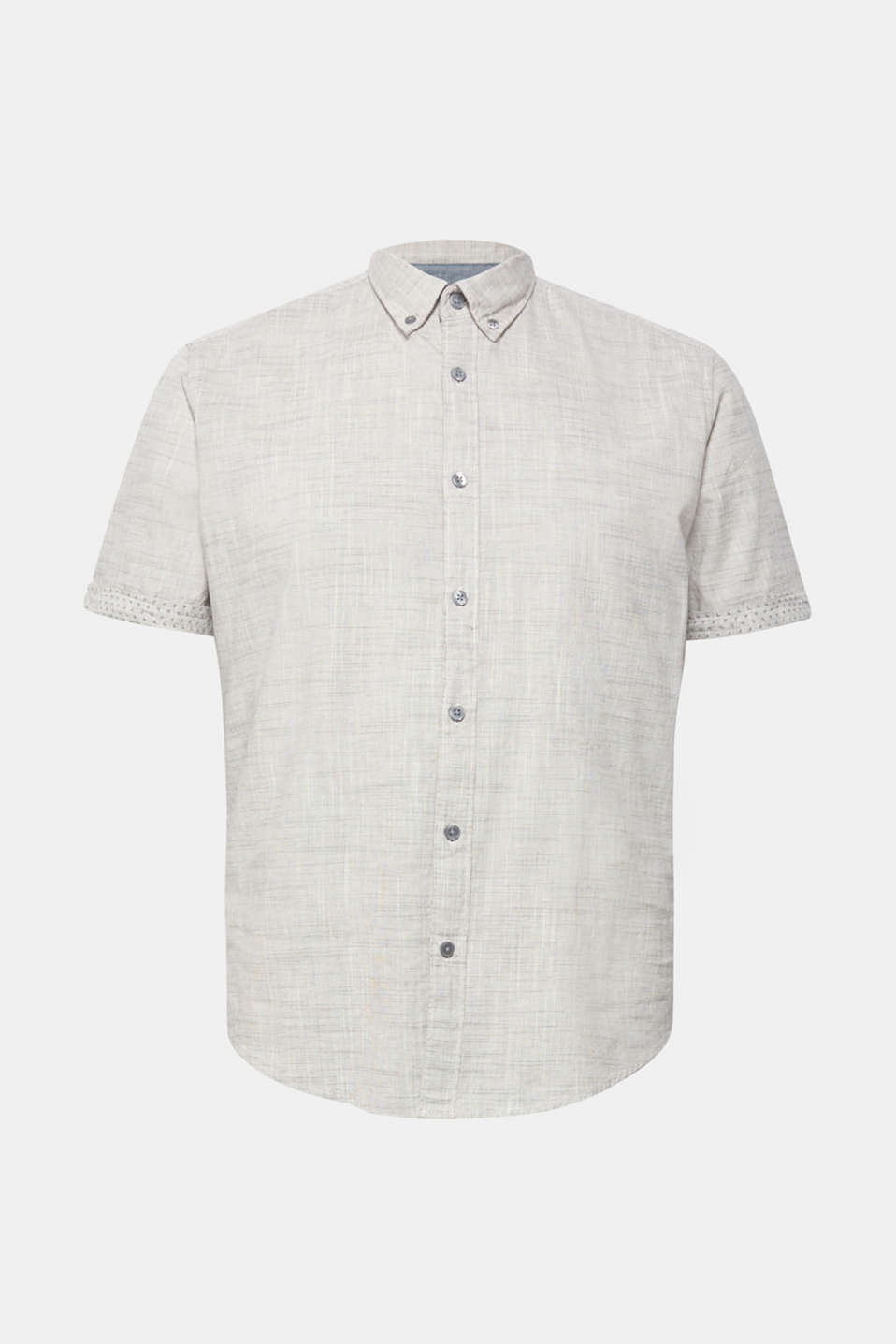Shirts woven Slim fit, LIGHT GREY, detail image number 6
