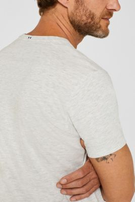 Jersey T-shirt with a print, 100% cotton