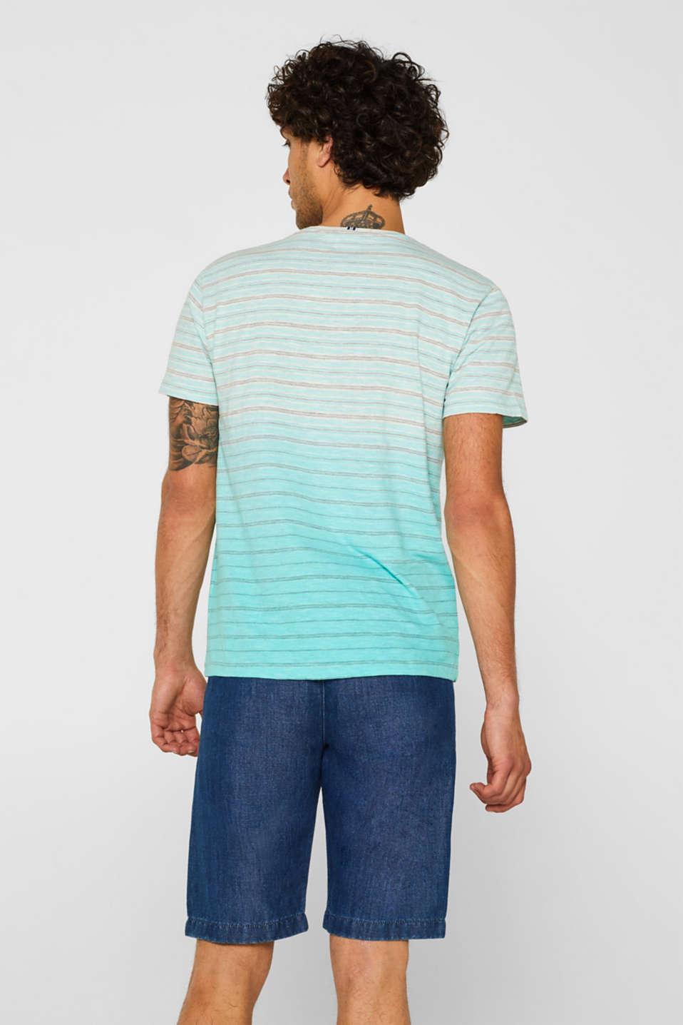 T-Shirts, LIGHT AQUA GREEN, detail image number 3