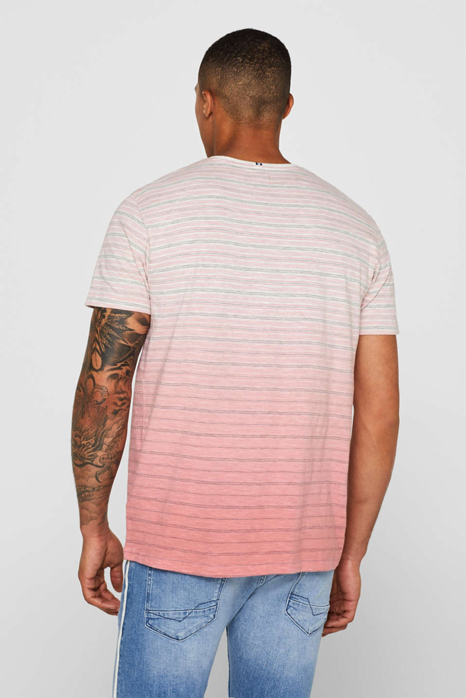 Jersey T-shirt with colour graduation, BLUSH, detail image number 3
