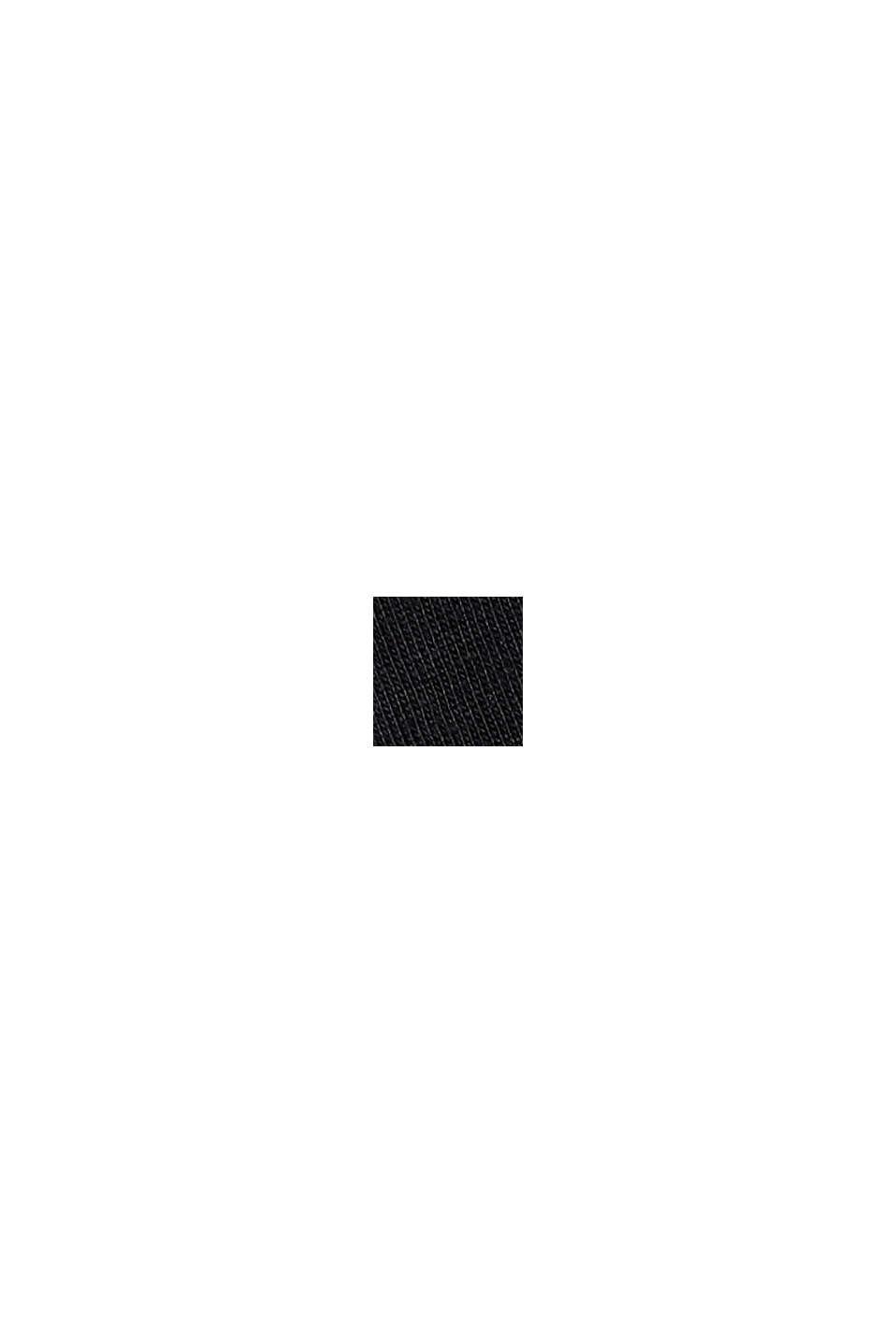 Painokuvioitu paita 100 % puuvillaa, BLACK, swatch