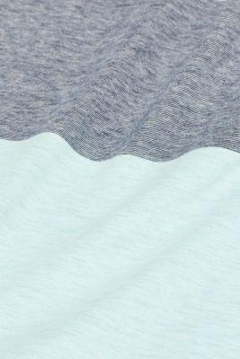 Layered-effect jersey T-shirt