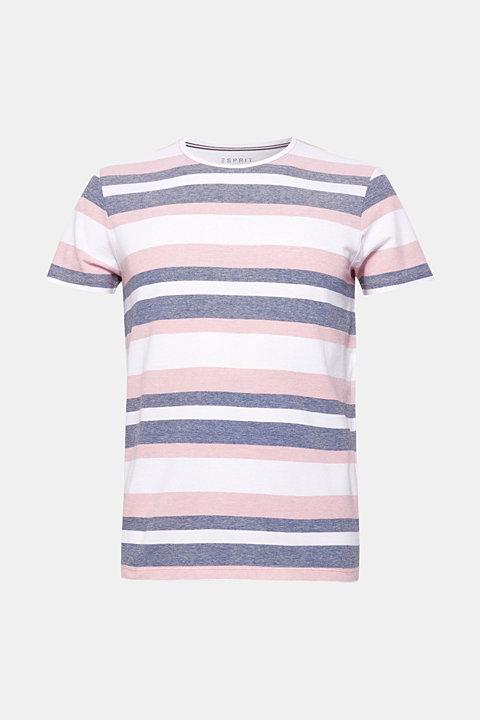 Piqué T-shirt with stripes