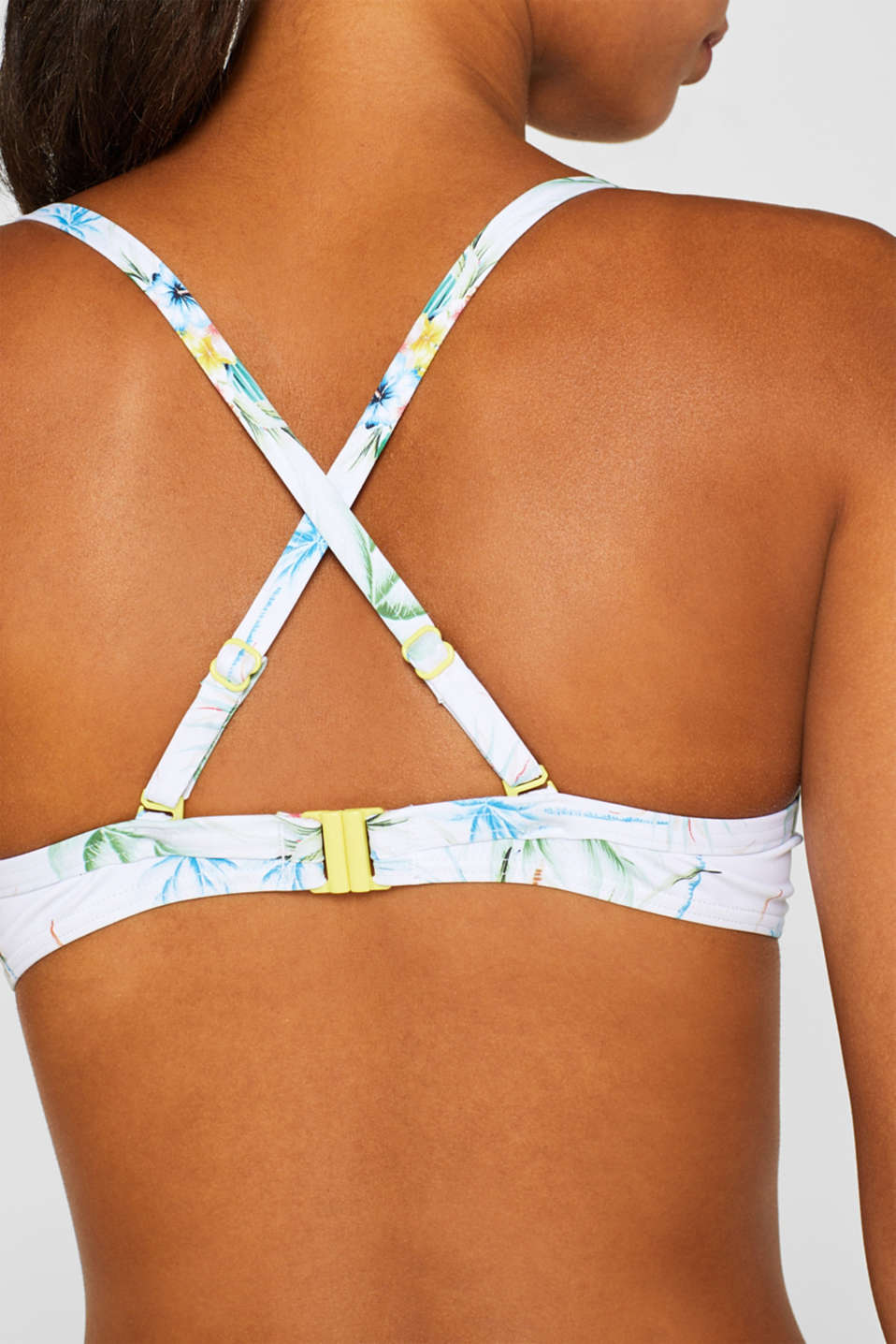 Beach Tops with wire, WHITE, detail image number 3