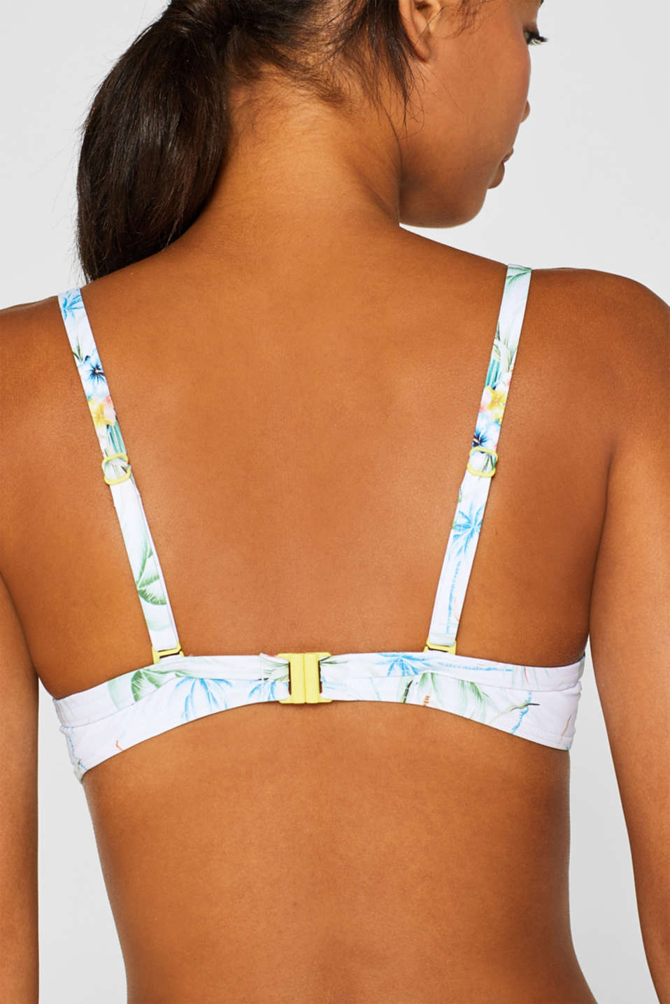 Beach Tops with wire, WHITE, detail image number 4